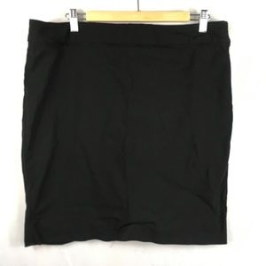 Pencil skirt black Exact Stretch fitted stretchy